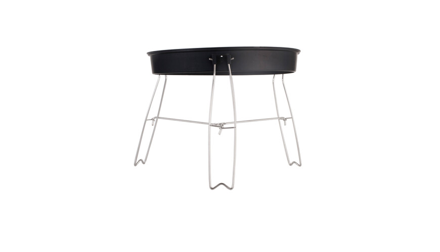 Relags Pop Up Barbecue Ø 38 cm zwart